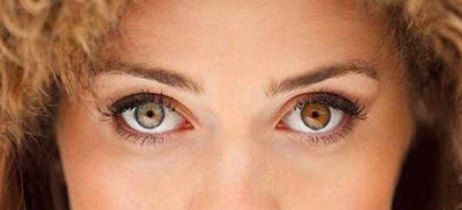 Глаза цвета хамелеон