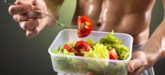 Белковая диета спортсмена