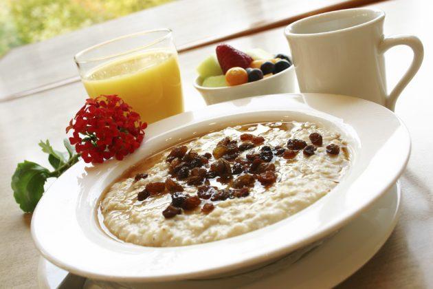 Завтрак при правильном питании
