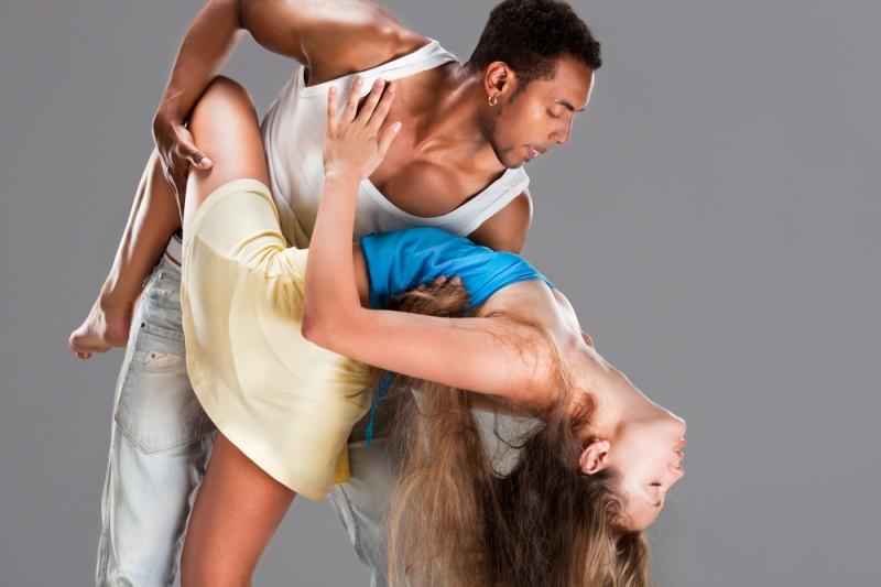 Стеснение в танце