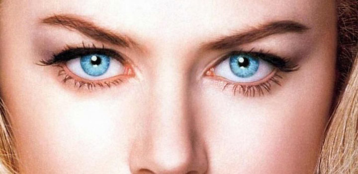 Голубые и синие глаза