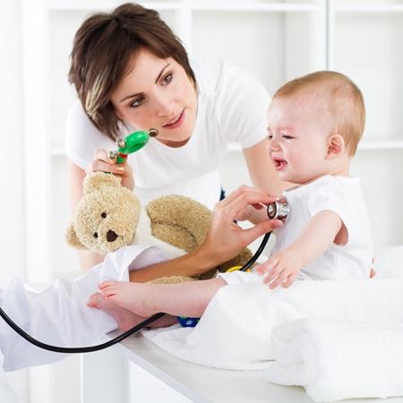 Бронхит в первый год жизни ребёнка